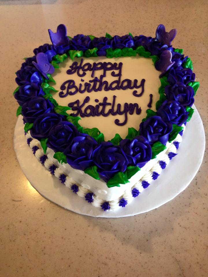 BakeMyDay Bakery Katy Birthday Cake