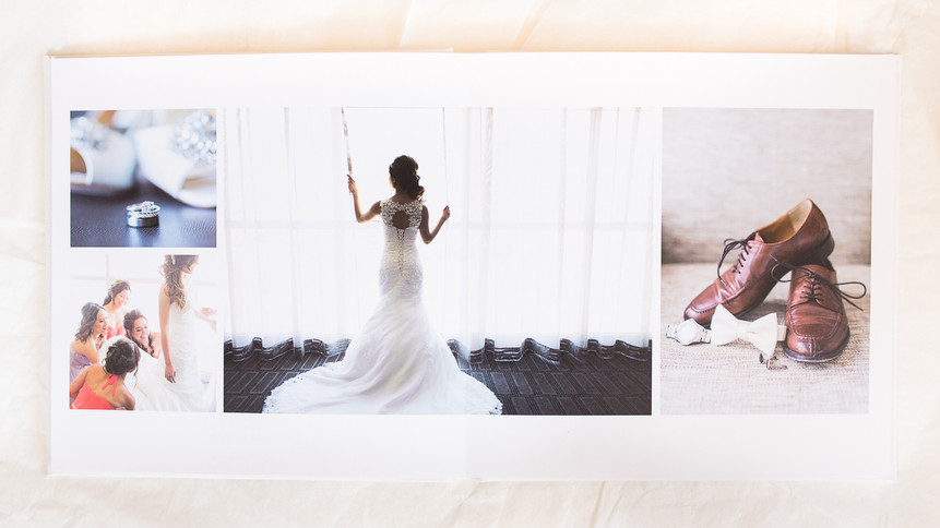 Now Offering Wedding Albums!