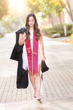 USC Grad Photo graduation