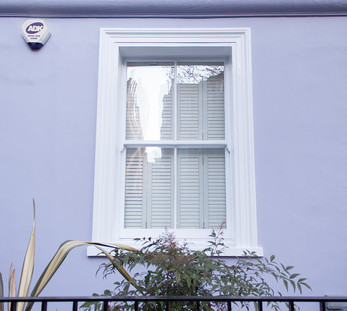 Windows of Notting Hill