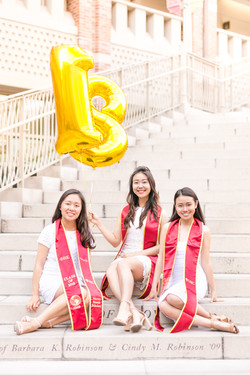 usc graduation balloons