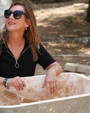 conservation work סדנה בשימור, ארכיאולוגיה