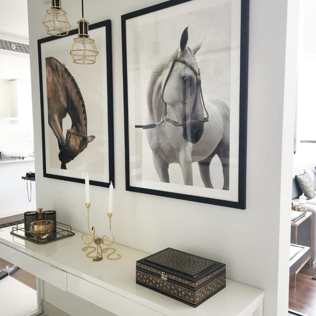 Fine Art Prints framed.