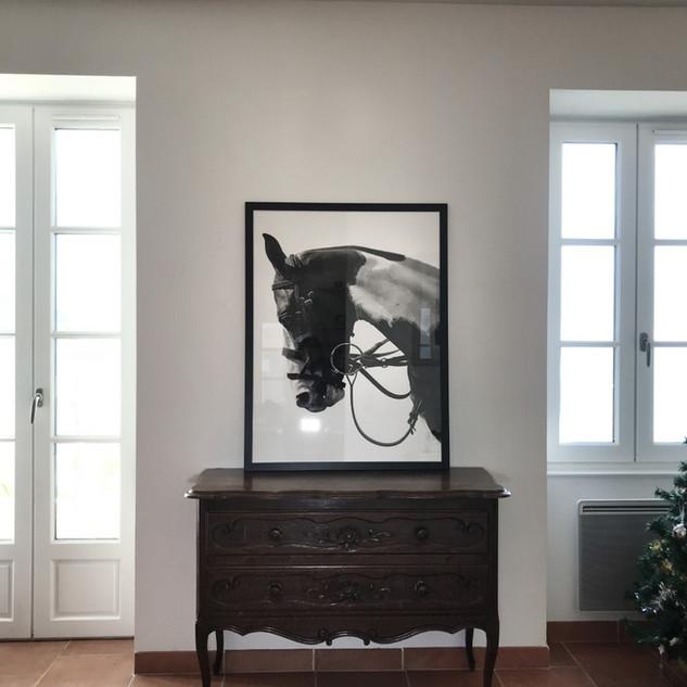 Fine Art Print framed.