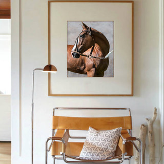 Polo horse Penca in Interiors.