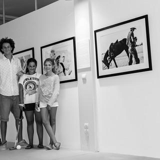 """Exhibition """"Polo&Horses""""."""
