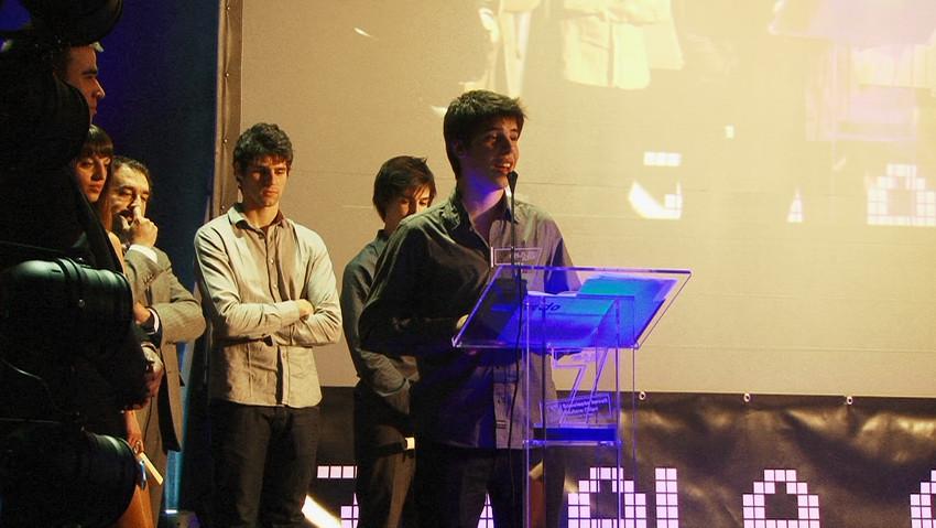 João Fachada recebe o Prémio Jovem do An