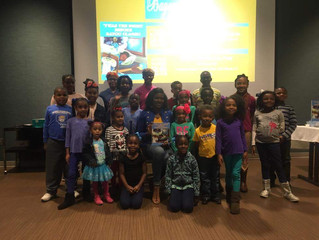 Reading at the Breaux Bridge Library