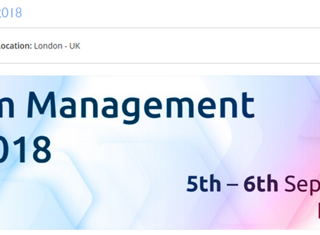 Justin Mason-Home to present at Cleanroom Management Summit 2018 COMPLETED