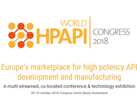 Justin Mason-Home to Chair HPAPI World Congress 2018, Basel, Switzerland, 29-31 October COMPLETED