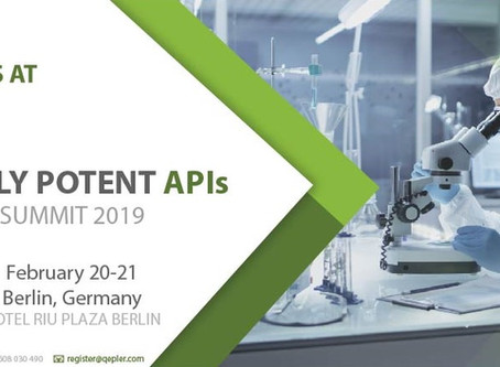 Justin Mason-Home to present at Highly Potent APIs Summit 2019, Berlin COMPLETED