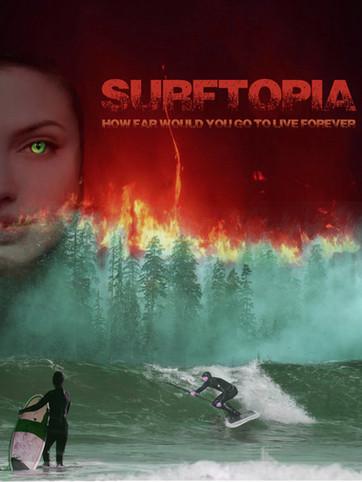 Surftopia Poster
