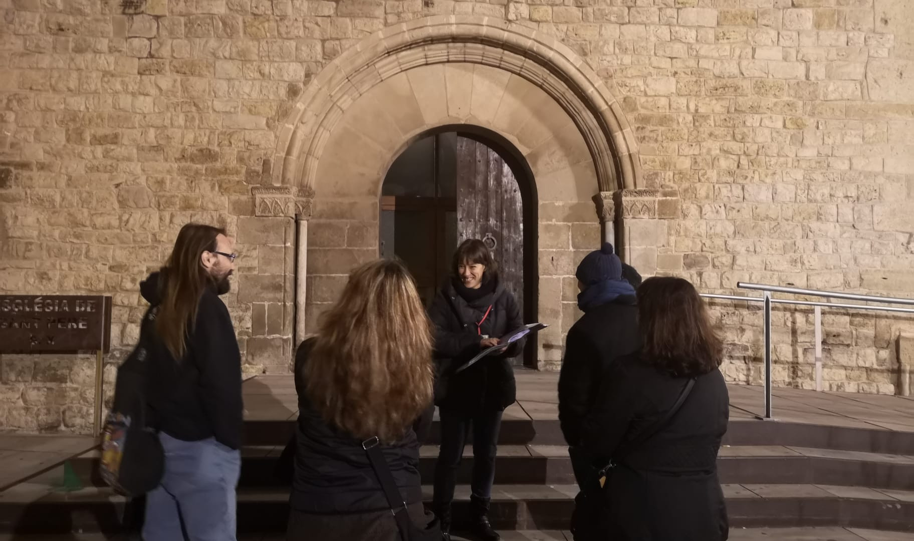 Visita guiada església sant pere de rubí