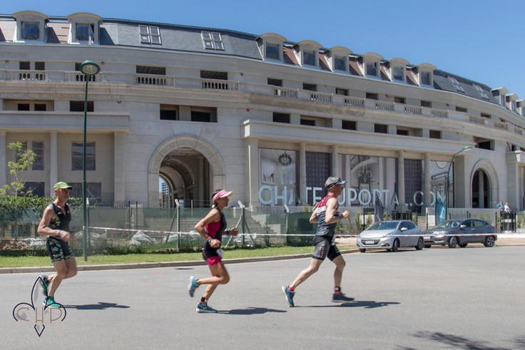 Se Vivio el Ironman 70.3 en Chateau Portal