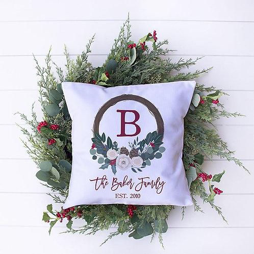 Monogram Christmas Towel