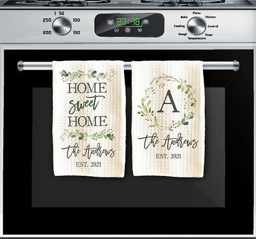 Set of 2 Housewarming Towels
