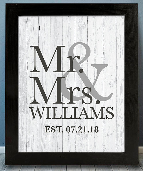Mr. and Mrs. Print