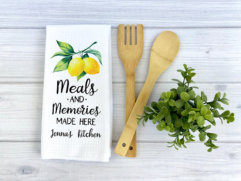 meals and memories are made here kitchen