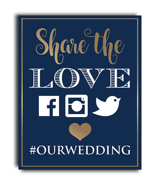 social media promotion for weddings