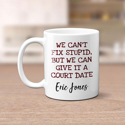 funny lawyer cop mug