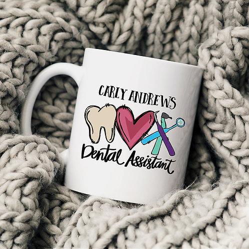 Personalized Dental Assistant Mug