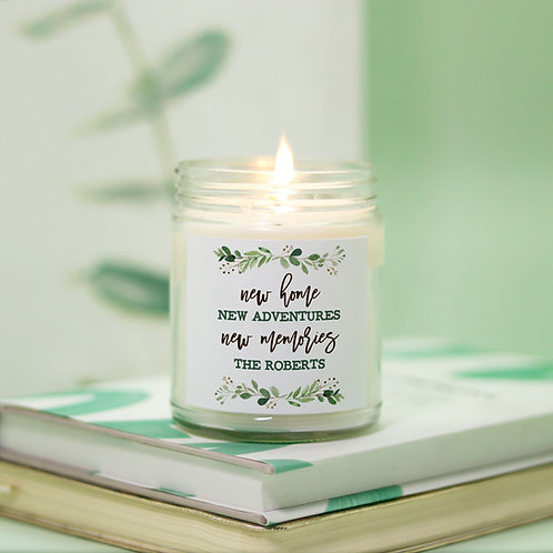 eucalyptus new home new memories candle