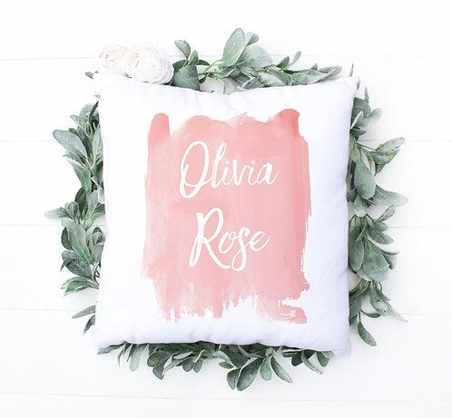 Girls Name Pillow