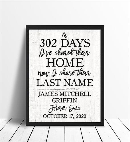 Adoption Day Print
