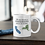 Thumbnail: Personalized Father & Daughter Two State Mug