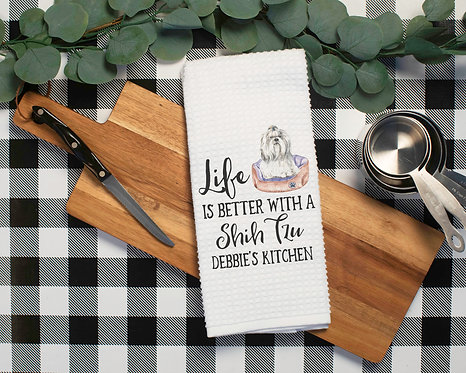 Shih Tzu Life Towel