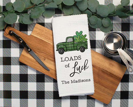 St. Patrick's Day Kitchen decor