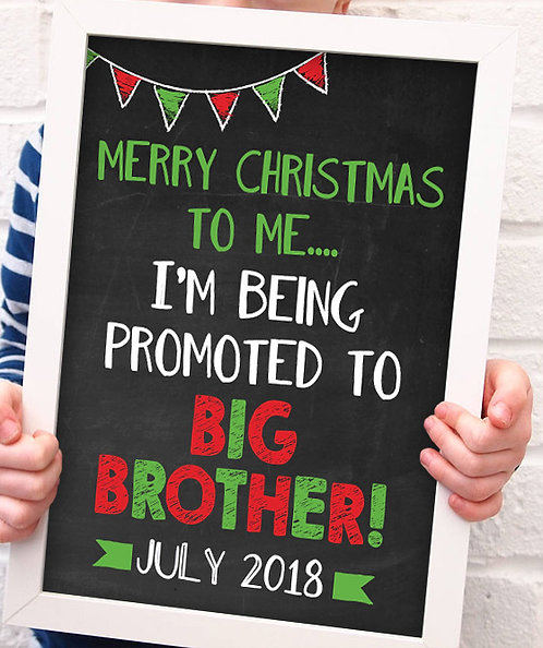 Christmas Big Brother Pregnancy Announcement