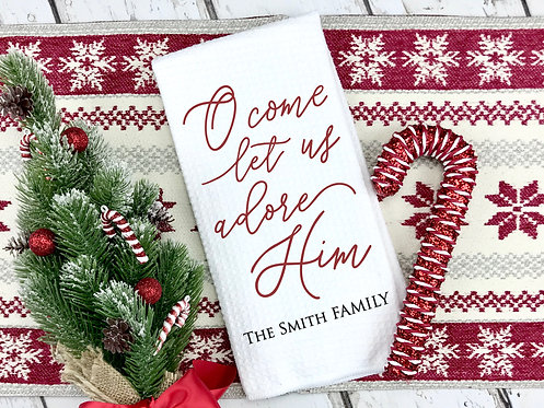personalized christmas decor