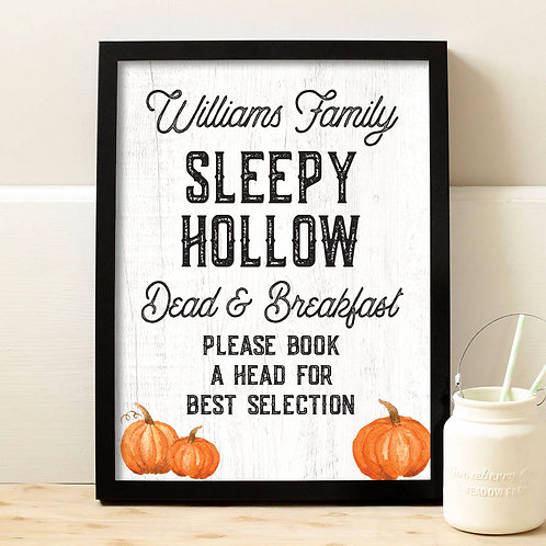 Funny Halloween Sign, Cute Halloween Decor