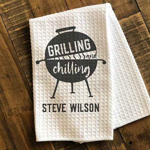 grilling and chilling towel