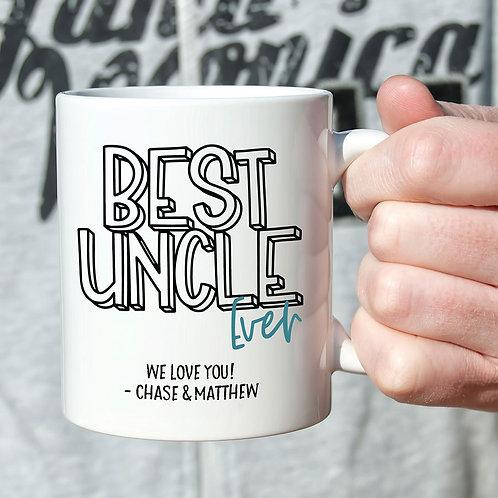 Best Uncle Ever Mug