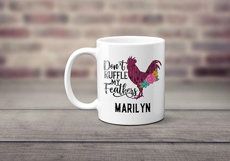 Ruffle Feathers Mug