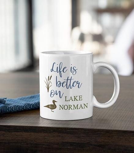 Life Is Better On The Lake Personalized Mug