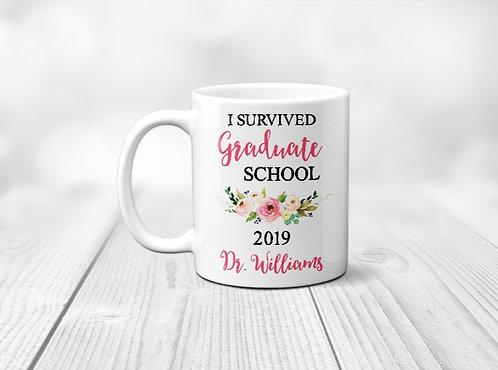 Survived Grad School Mug