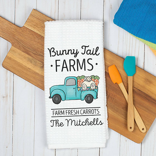 farmhouse dish towel