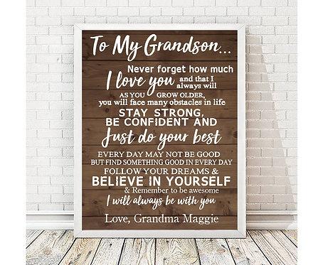 Grandson Print