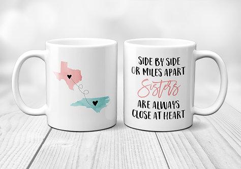 Two State Sister Mug