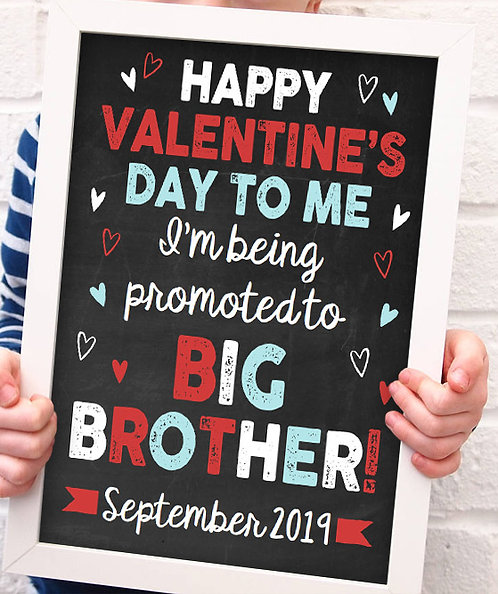 Happy Valentines Day, Promoted Brother