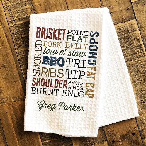 bbq grilling towel