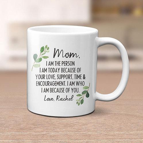 personalized mother appreciation mug