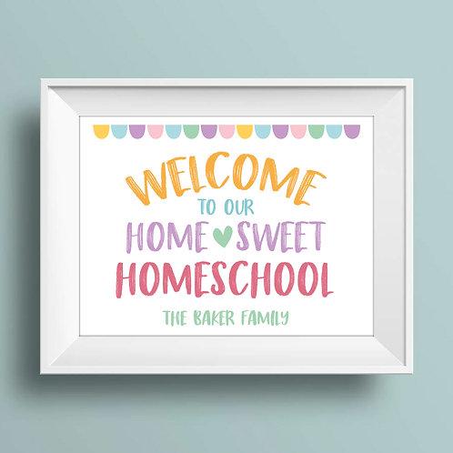 girls homeschool print