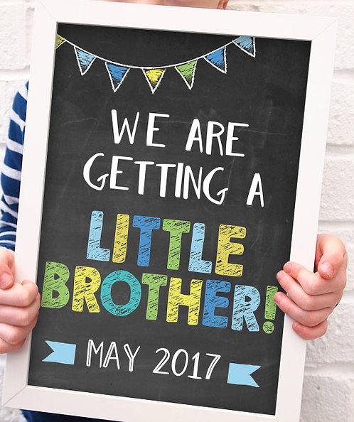Little Brother Pregnancy Announcement