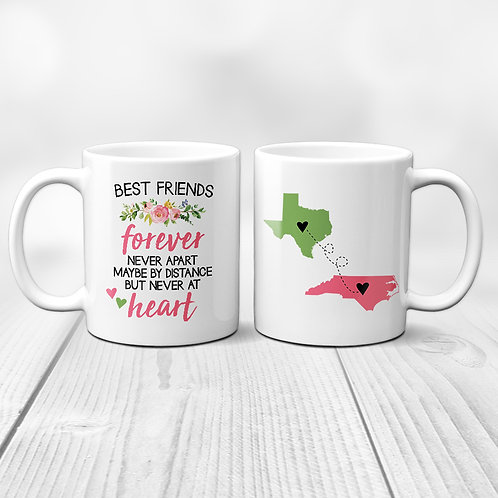 personalized long distance print