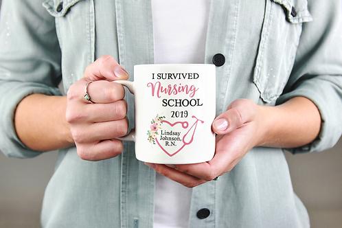Nurse Graduation Personalized Mug