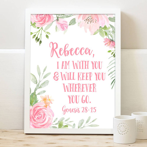 Bible Verse Comforting Gift for college student